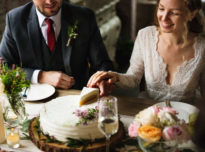 مراسم برش کیک عروسی -1