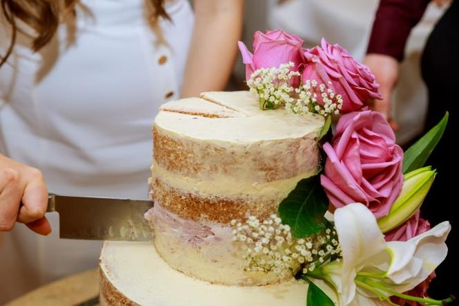 مراسم برش کیک عروسی -3
