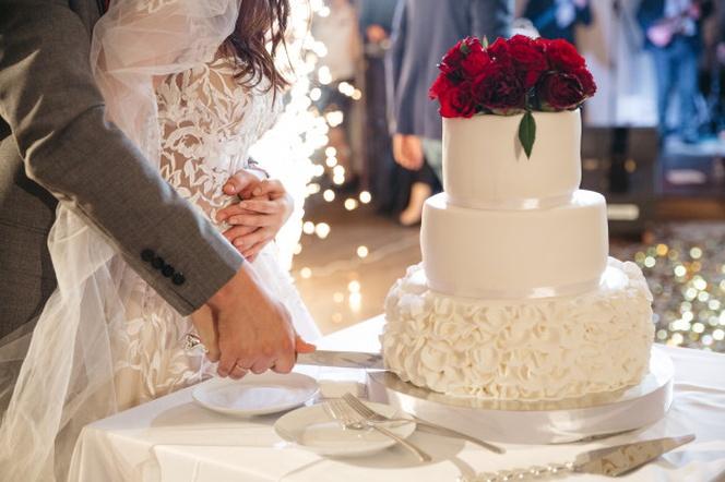 مراسم برش کیک عروسی -4